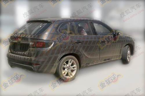 定名为中华V5 中华首款SUV部分参数曝光