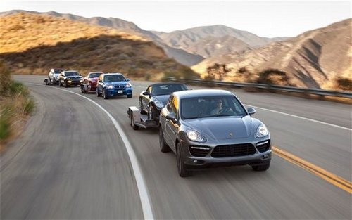 猛犸象再次聚首 对比测试三款高性能SUV