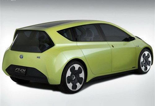 疑似丰田FT-CH混动概念车量产版申报图