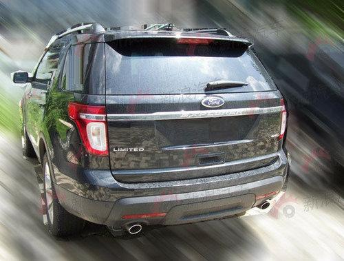 即将引入国内 福特Explorer大型SUV曝光
