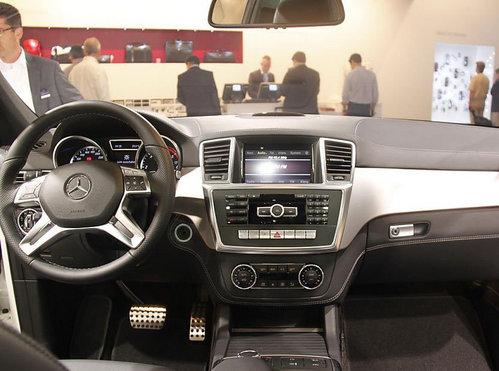 2011法兰克福 全新奔驰ML实车首发亮相