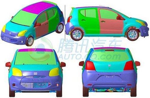三款SUV车型 众泰新车专利申报图解析