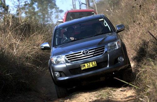 任劳任怨好伙伴 新丰田Hilux驾驶体验