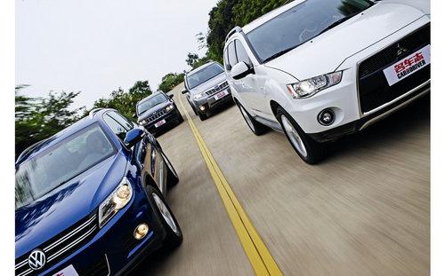 逍遥自习课 四款城市SUV全面对比试驾