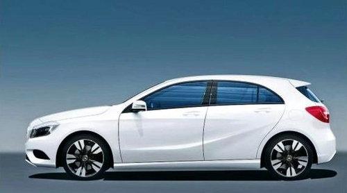 明年正式发布 奔驰全新A级效果图曝光