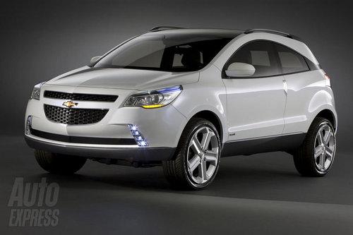 2012年发布 雪佛兰将推Aveo跨界版车型