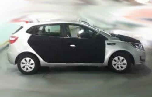 即将上市发售 国产K2两厢版实车再曝光