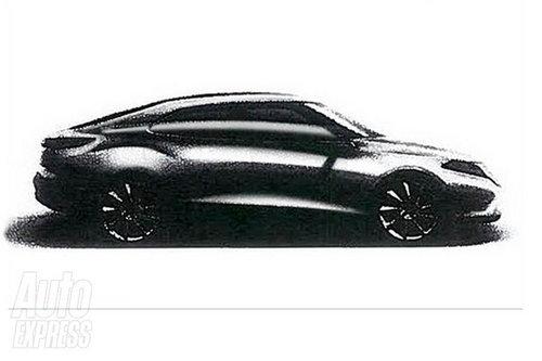 预计明年底发布 萨博新9-3设计草图曝光
