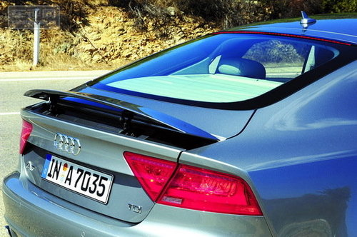 优雅的尾部曲线 试驾奥迪A7 Sportback