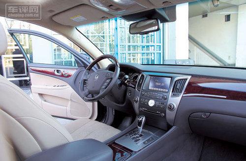 经济实惠型豪华车 试驾体验现代雅科仕