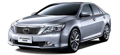 凯美瑞换代新款上市 主流商务轿车对比