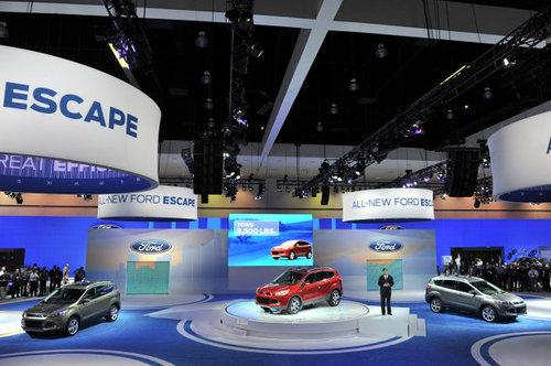 2011洛杉矶车展 2013款福特Escape发布