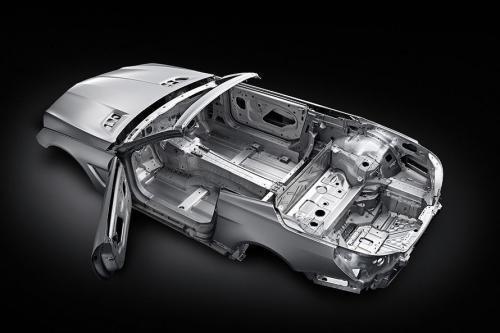 车身减重140Kg 2012款奔驰SL细节图首曝