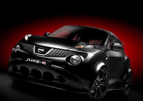 日产Juke-R官方图片发布