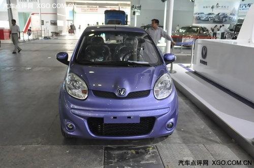 广州车展探馆 新款奔奔MINI展前遭曝光