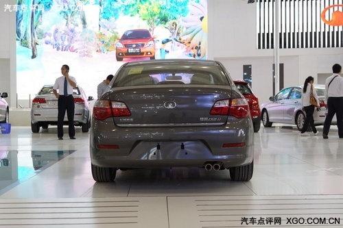 广州车展探馆 长城腾翼C50车展前再曝光