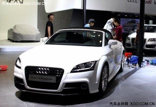 广州车展探馆 一汽-大众奥迪展台揭秘