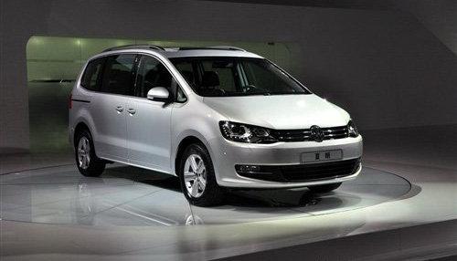 尺寸再度增大 新一代夏朗广州车展首发