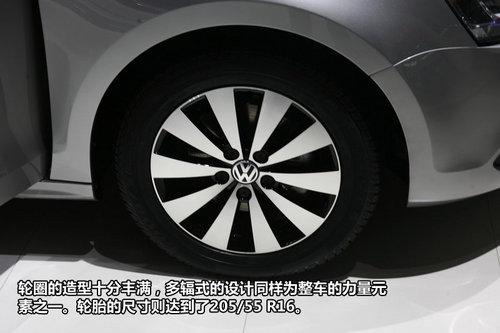 外观更加硬朗 全新速腾广州车展详解