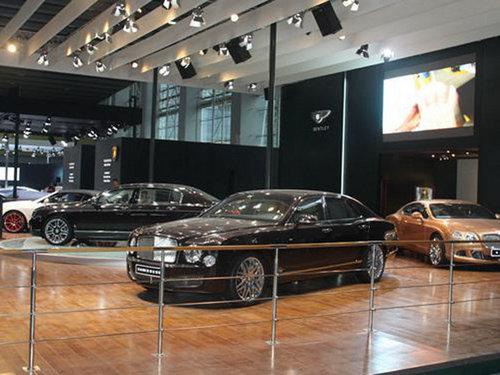 宾利携3款车型亮相 广州车展豪华车汇总