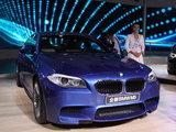 不负期望 车展实拍宝马高性能车型新M5