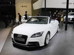 2011广州车展奥迪TT