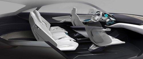 Buick Envision别克愿景SUV概念车首发