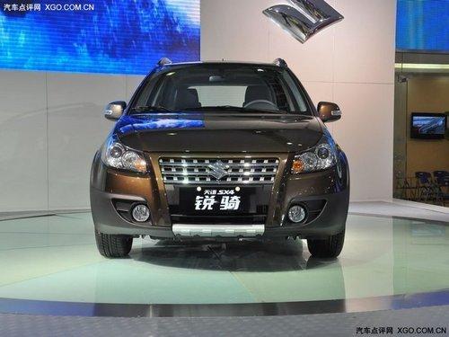 新车命名锐骑 天语SX4锐骑广州车展发布