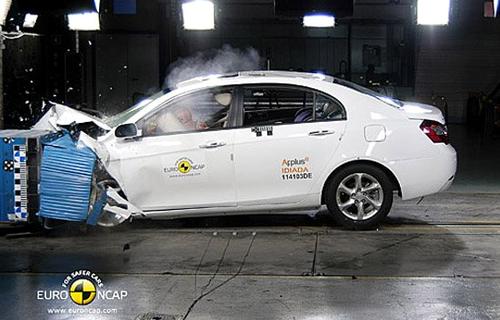 帝豪EC7获4星 Euro NCAP新测试结果公布