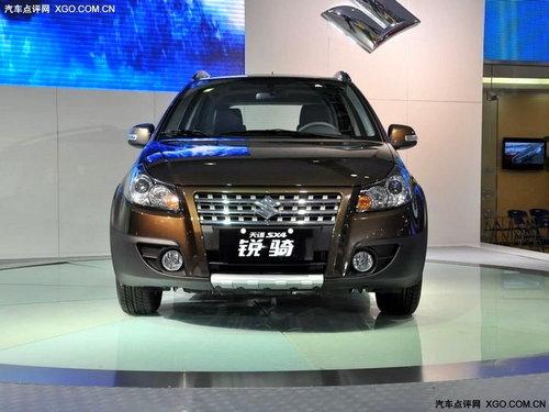 长安铃木SX4锐骑 两厢版12月正式上市
