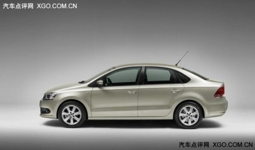 预计明年初上市 新Polo三厢版实车曝光