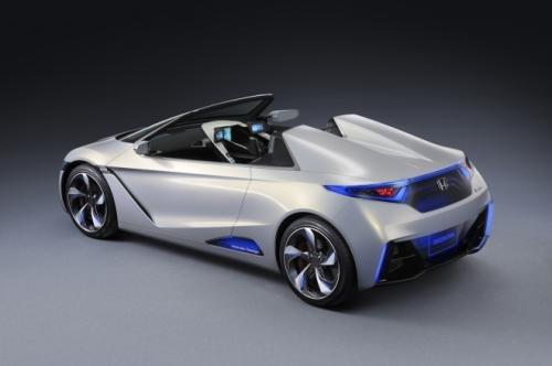 打造小型电动跑车 本田EV-Ster东京发布