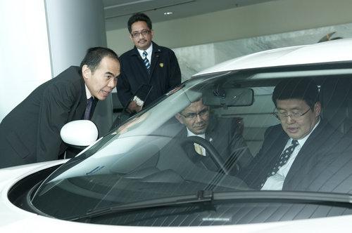 华泰汽车与马来西亚宝腾汽车正式合作