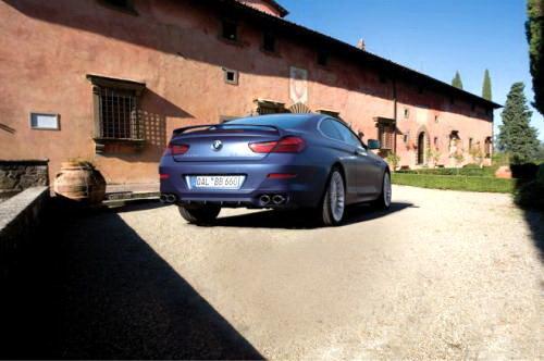 双涡轮增压跑车 宝马推出2012款Alpina