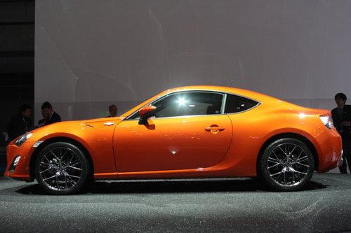 明年上市发售 丰田GT 86东京车展首发