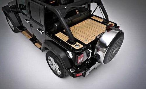 创新内饰 Jeep推出牧马人水手版概念车