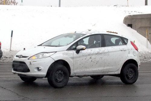 搭载1.0T发动机 福特EcoSport谍照曝光