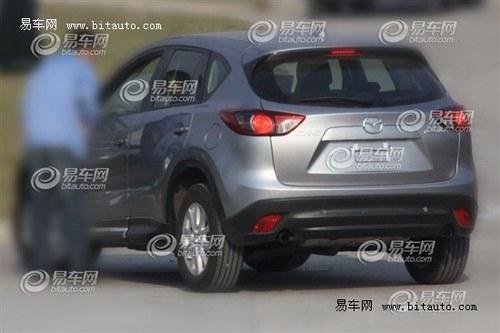 预计明年中旬引入 马自达CX-5现身国内
