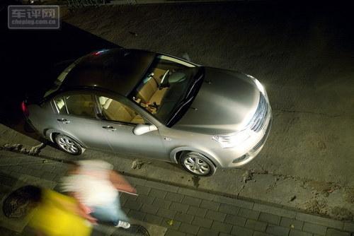 定位准确的实惠家用车 深度试驾奇瑞E5