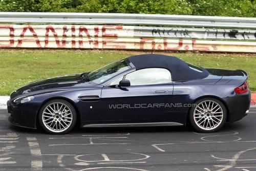 阿斯顿马丁V12 Vantage敞篷版明年发布