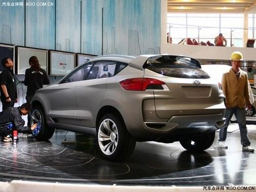 2013年初上市 一汽奔腾SUV量产版曝光