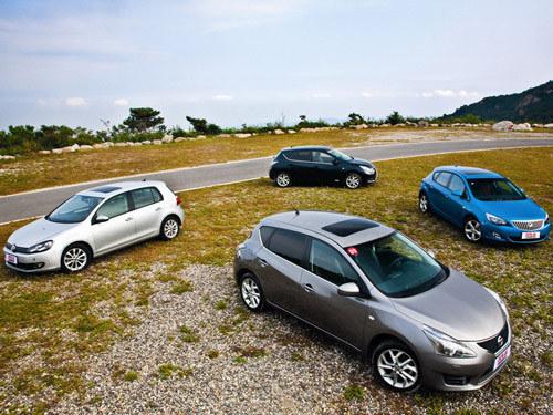 涡轮谜局 四款涡轮增压的家用轿车对比
