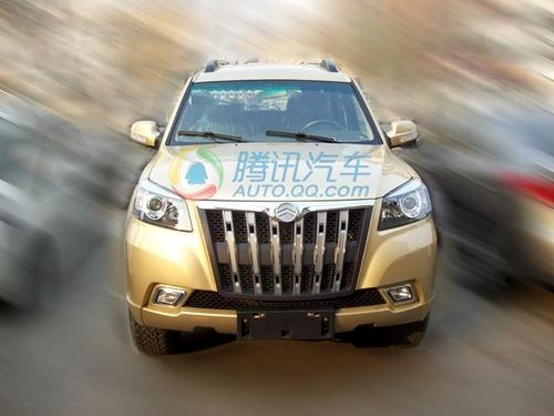 乘用车市场新军 厦门金旅SUV实车图曝光
