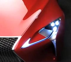 北美车展将首发 雷克萨斯LF-Lc外观曝光