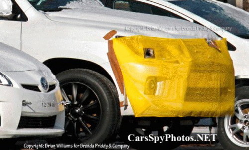 亮相北美车展 雷克萨斯改款LX570曝光