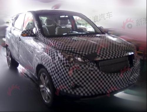013年上市 长安汽车首款SUV曝光高清图片
