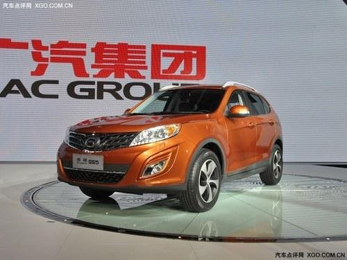 广汽首款SUV 传祺GS5或明年4月正式上市