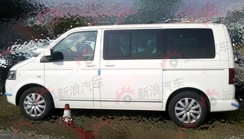 大众商务车Multivan全新改款谍照曝光