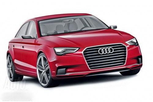 有望2014年国产 新一代奥迪A3年内上市