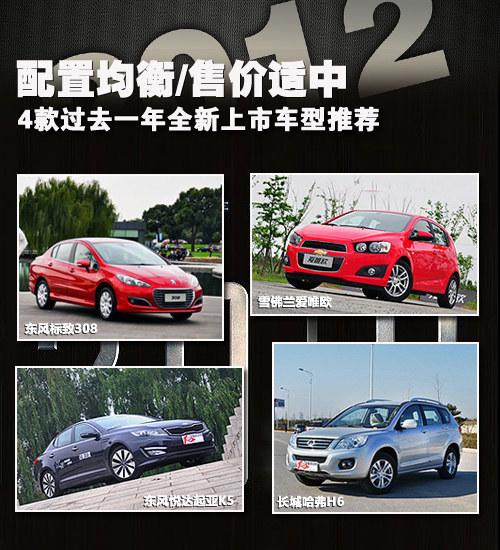 过去一年上市新车 4款不同级别车型推荐
